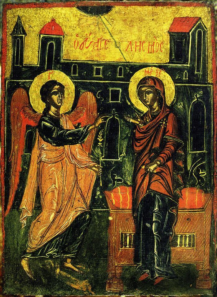 Благовещение Тиносская из Мельника