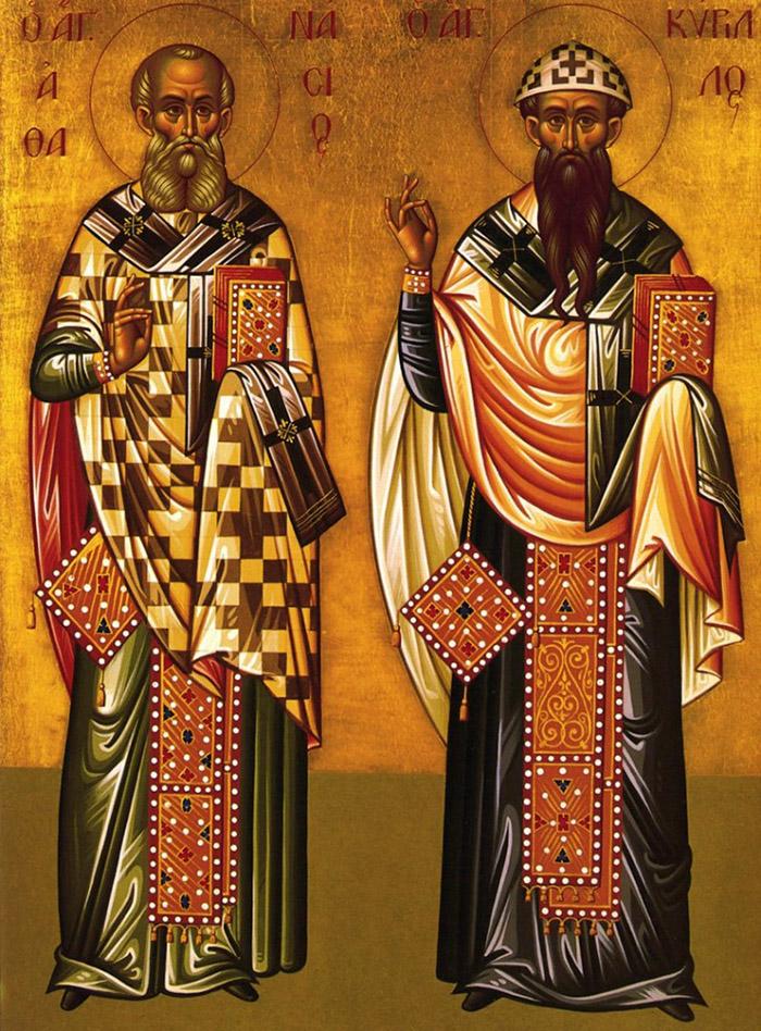 Акафист святителям Афанасию Великому и Кириллу, архиепископам Александрийским