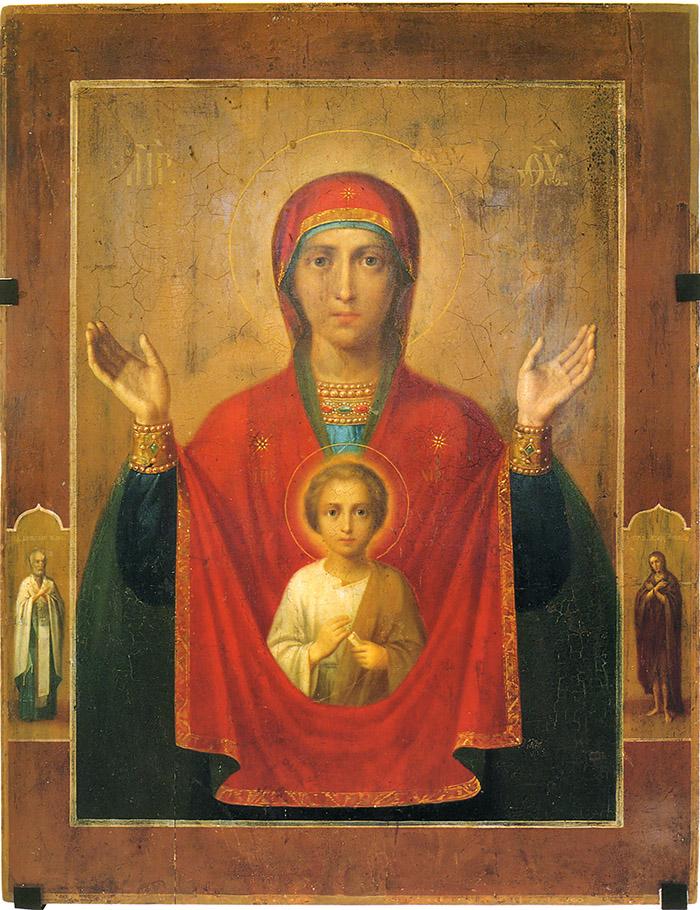 Акафист иконе Пресвятой Богородицы Алабацкая