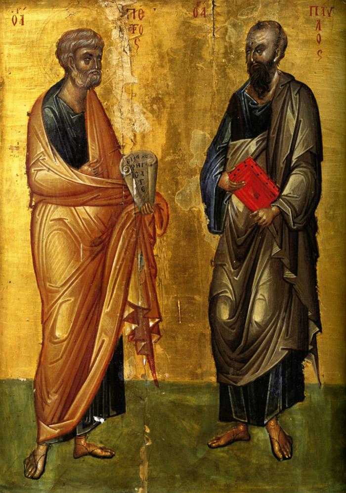 Молитвы святым первоверховным апостолам Петру и Павлу