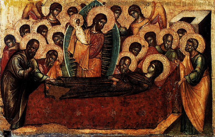Канон Успению Пресвятой Богородицы