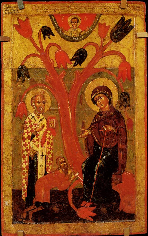 Пред иконой Пресвятой Богородицы Беседная
