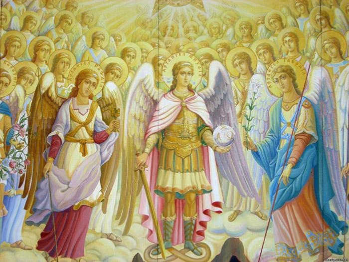Молитвы ангелам на каждый день