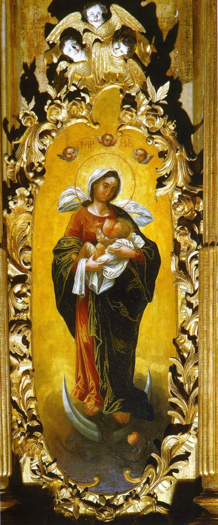 Акафист иконе Пресвятой Богородицы Благодатное Небо