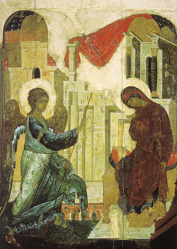 Молитвы Благовещению Пресвятой Богородицы