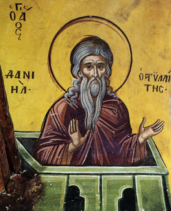 Молитвы преподобному Даниилу Столпнику