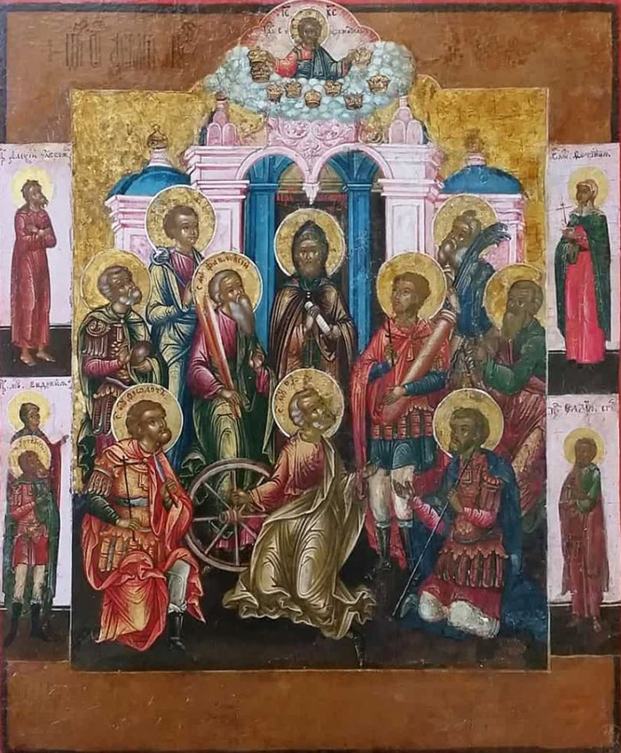 Акафист святым девяти мученикам Кизическим
