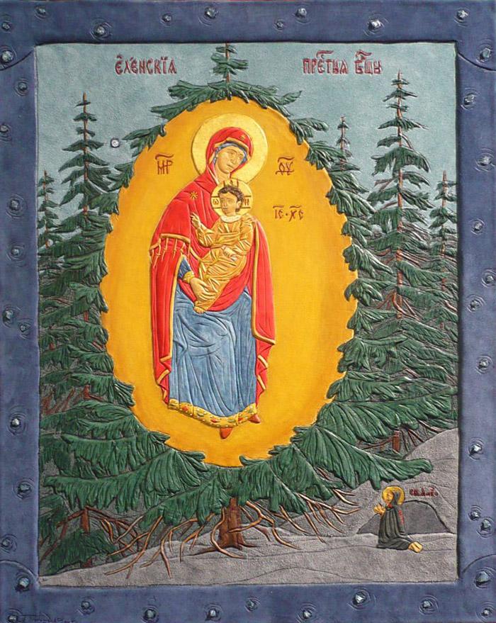 Акафист иконе Пресвятой Богородицы Елецкая