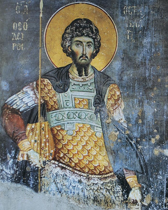 Молитвы святому великомученику Феодору Стратилату
