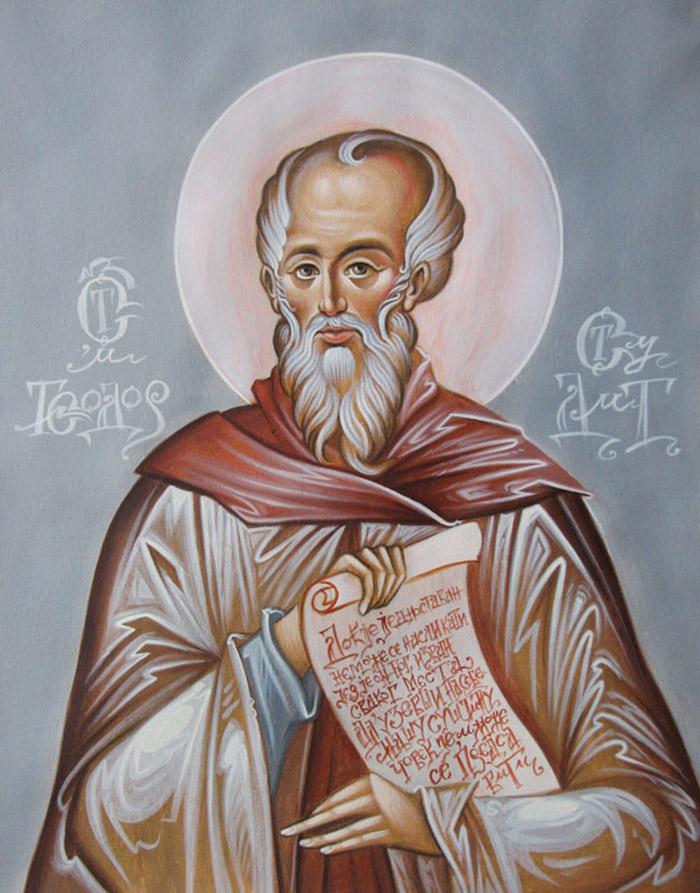 Молитвы святому великомученику Феодору Студиту