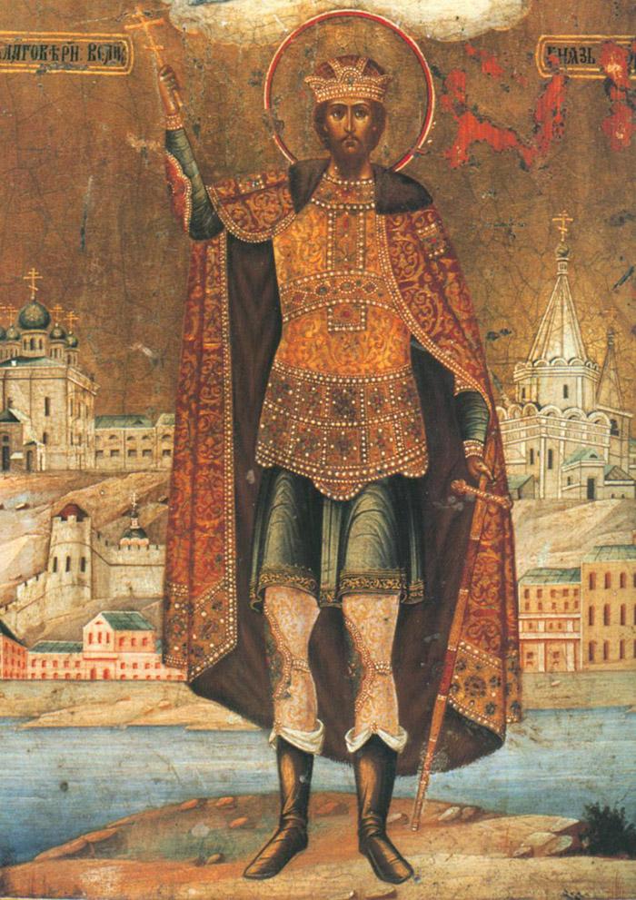 Молитвы святому благоверному князю Георгию Владимирскому