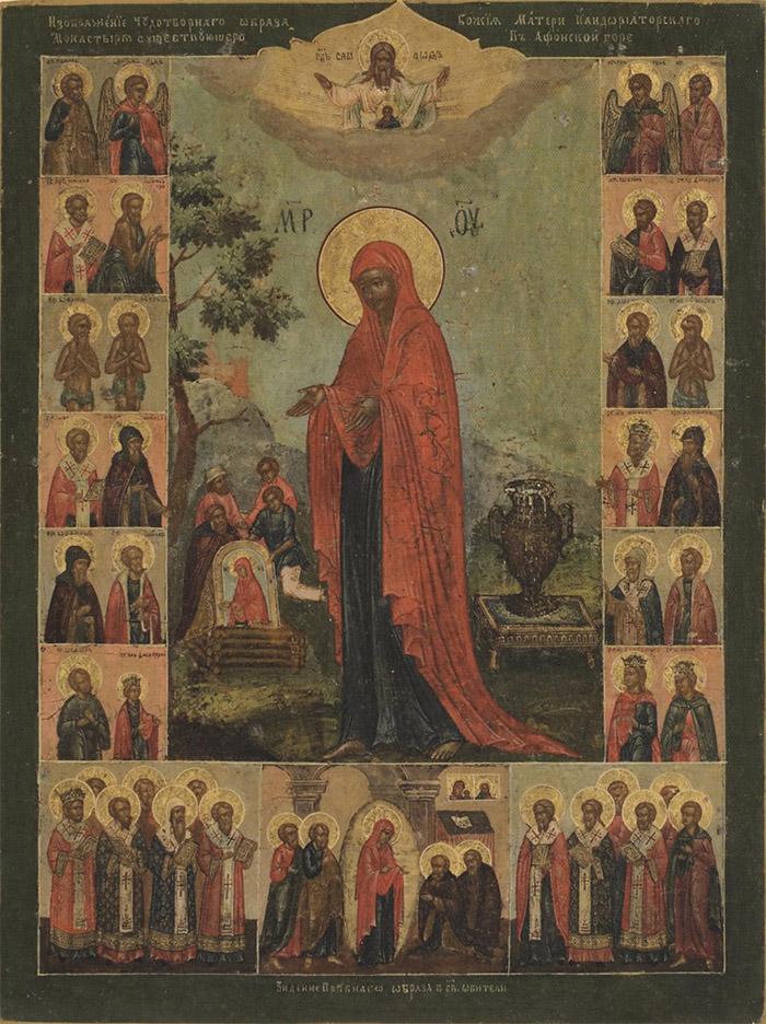 Акафист иконе Пресвятой Богородицы Геронтисса