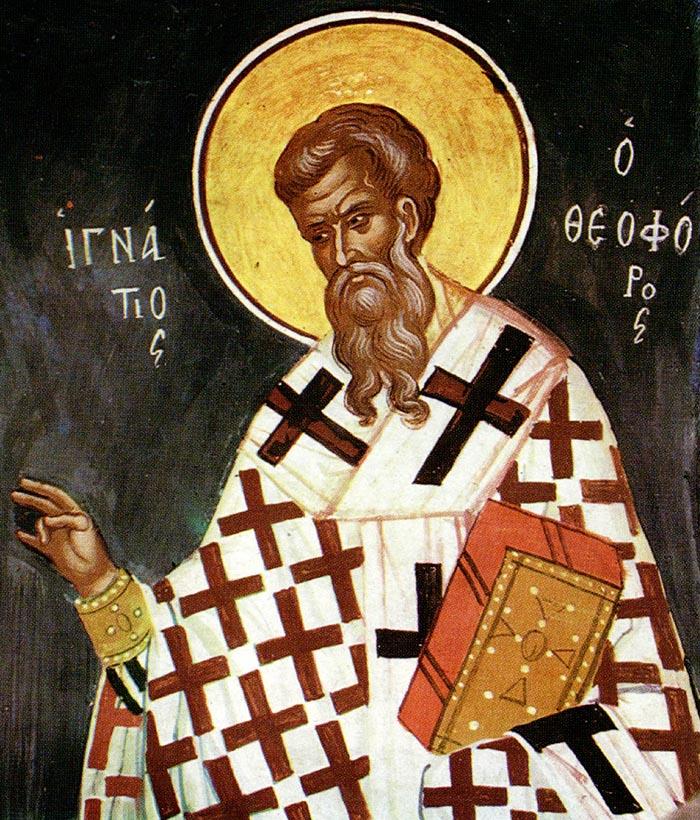 Молитвы священномученику Игнатию Богоносцу