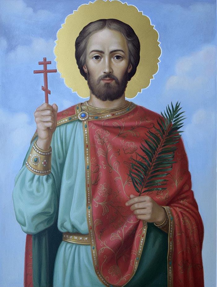 Молитвы великомученику Иоанну Новому