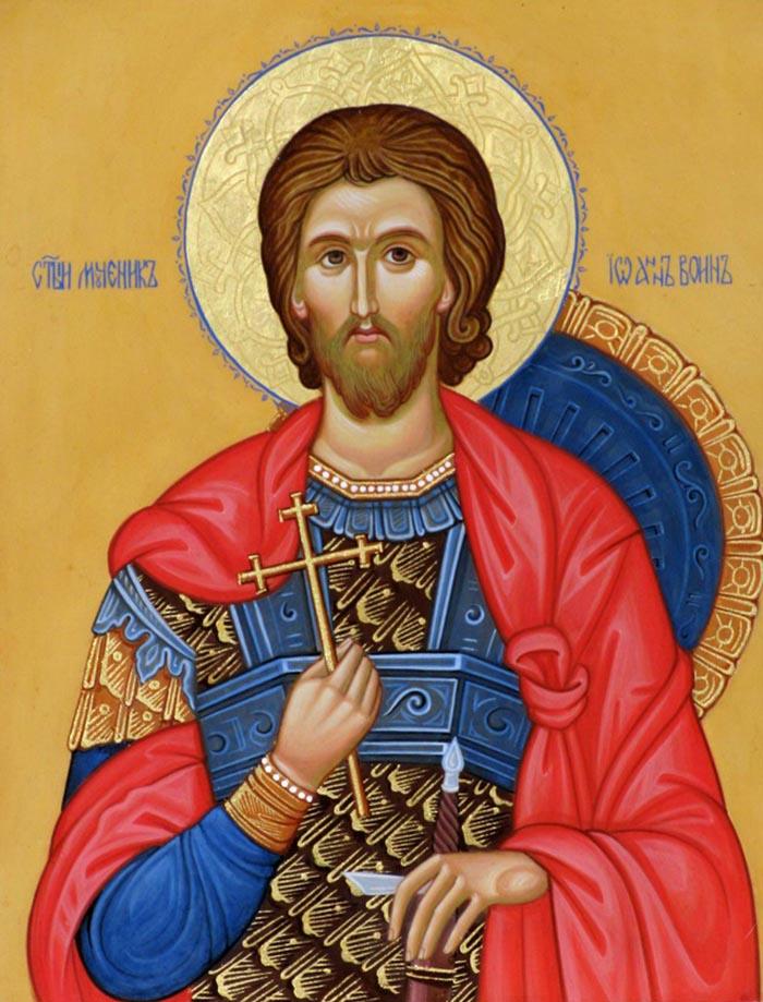 Молитвы святому Иоанну Воину