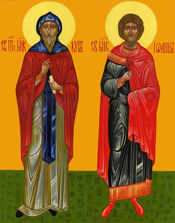 Молитвы святым мученикам и безсребренникам Киру и Иоанну