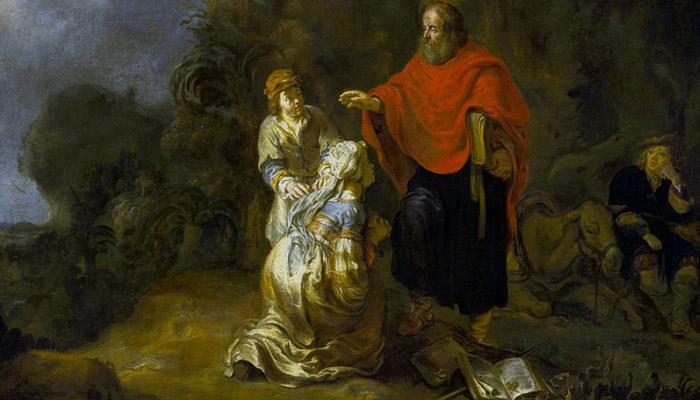 Четвертая книга Царств Глава 2 (4Цар.2)