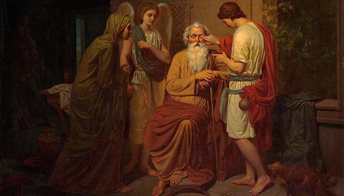 Книга Товита Глава 14 (Тов.14)