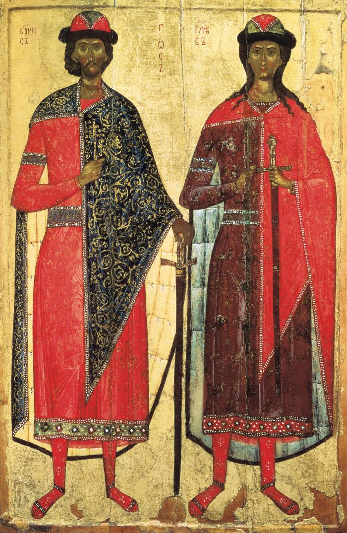 Молитвы святым и благоверным князьям Борису и Глебу