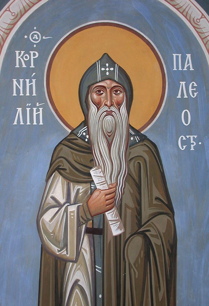 Молитвы преподобному Корнилию, игумену Палеостровскому