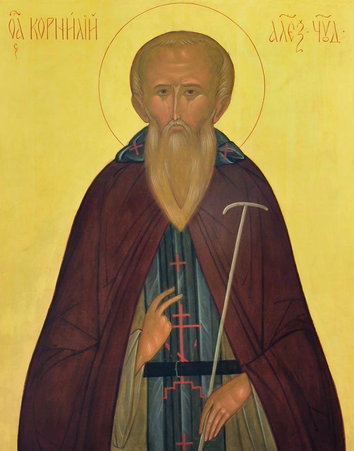 Молитвы преподобному Корнилию Александровскому