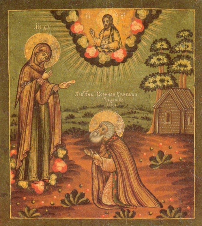 Молитвы преподобному Корнилию, игумену Комельскому