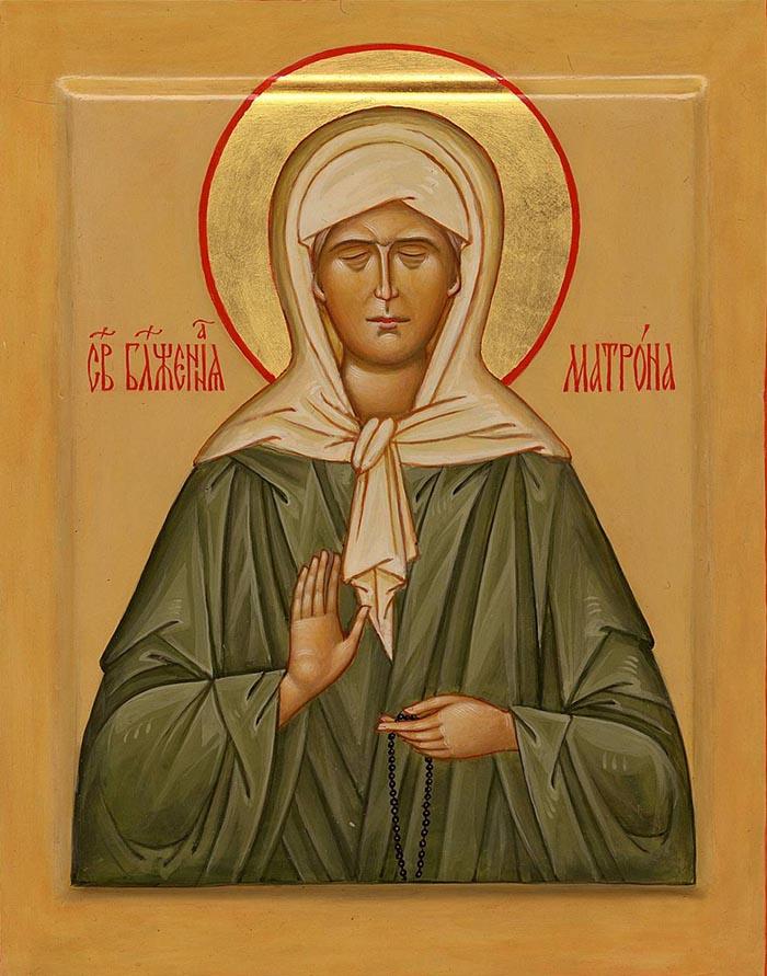 Молитвы святой блаженной старице Матроне Московской