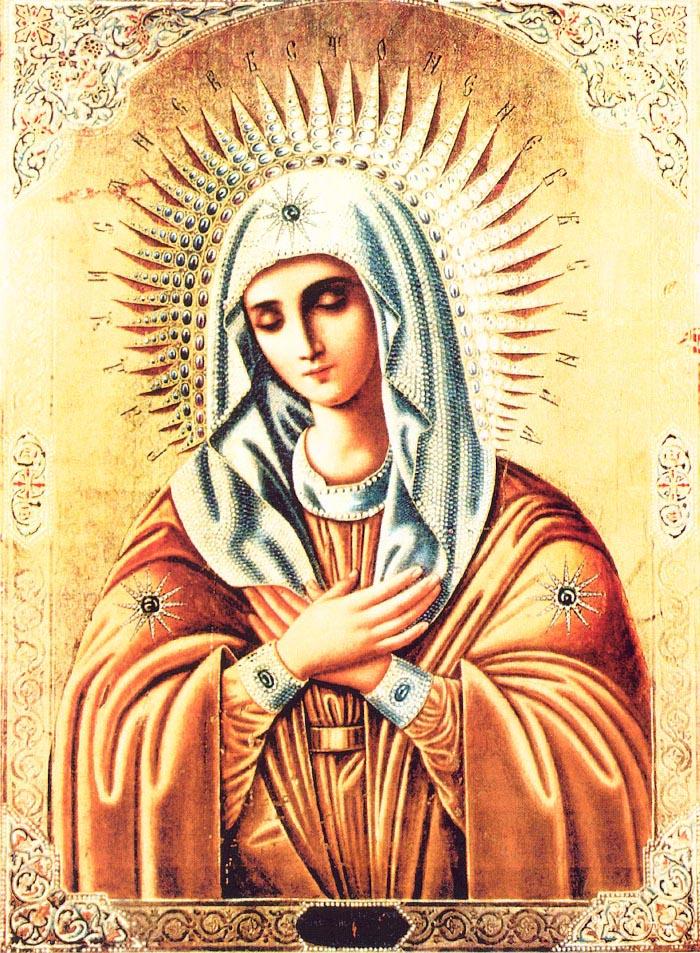 Акафист Пресвятой Богородицы Пречистая Матерь Милосердия