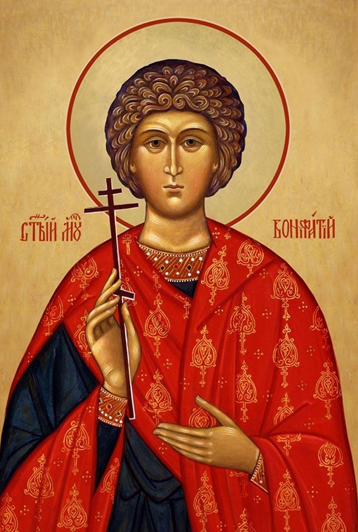 Молитвы святому мученику Вонифатию Тарсийскому