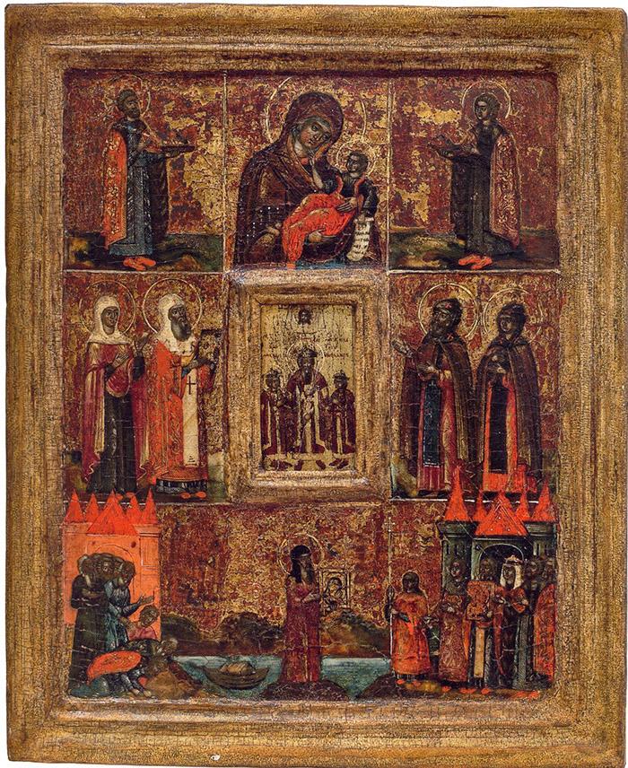 Пред иконой Пресвятой Богородицы Муромская