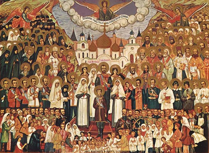 Молитва небесным печальникам Русской Земли