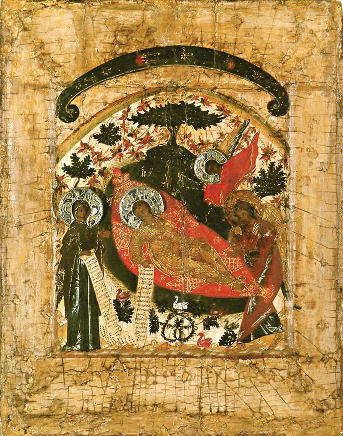 Пред иконой Пресвятой Богородицы Недремлющее Око