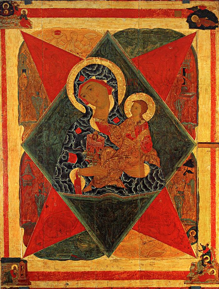 Пред иконой Пресвятой Богородицы Неопалимая Купина