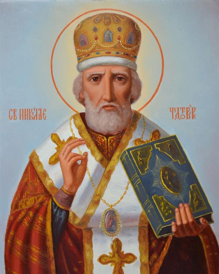 Молитвы святителю и чудотворцу Николаю, архиепископу Мир Ликийскому