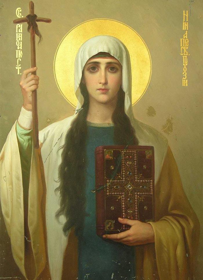 Молитвы святой равноапостольной Нине, просветительнице Грузии