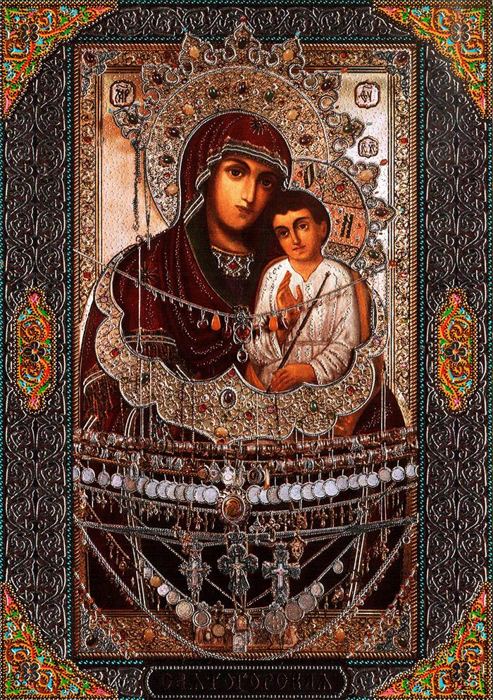 Акафист иконе Пресвятой Богородицы Одигитрия Святогорская