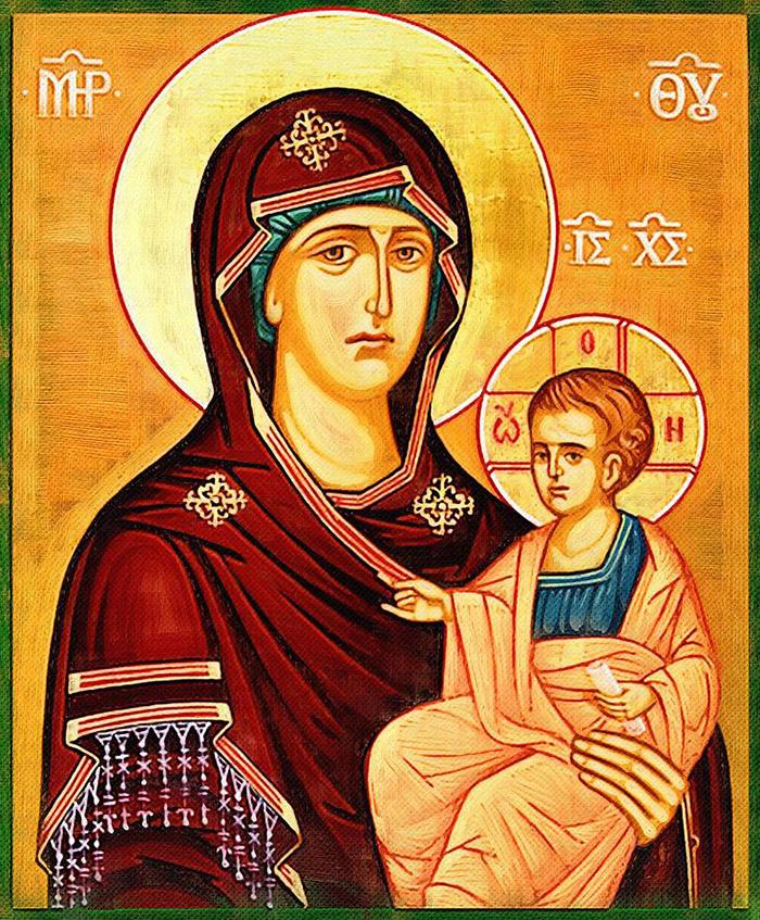 Акафист иконе Пресвятой Богородицы Попская (Иерейская)