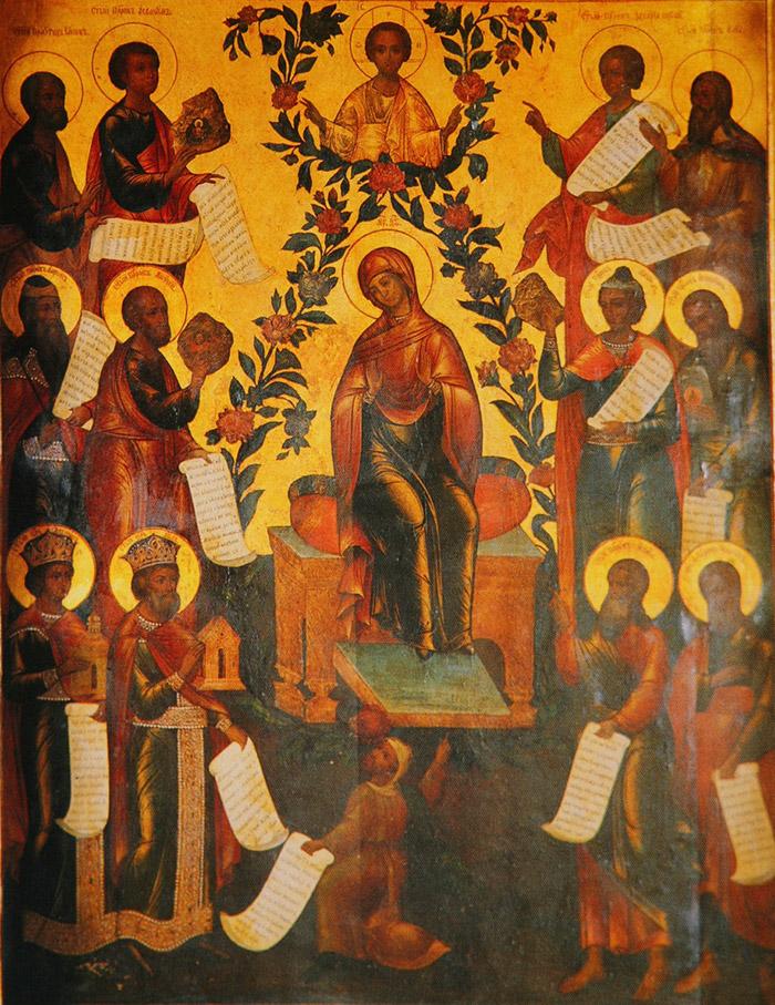 Акафист на Хвалу Пресвятыя Пречистыя и Преблагословенны Царицы Богородицы