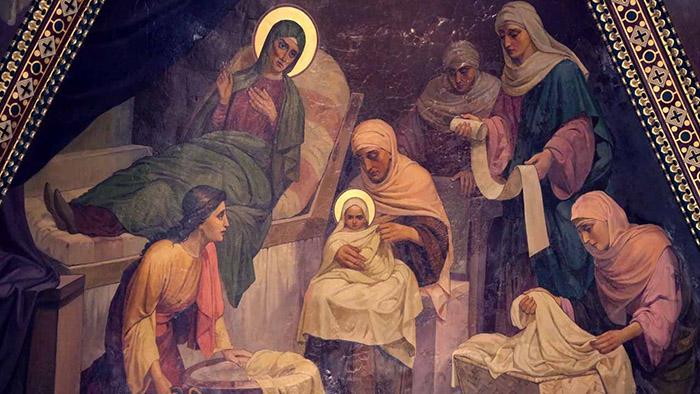 Канон предпразднству Рождества Пресвятой Богородицы