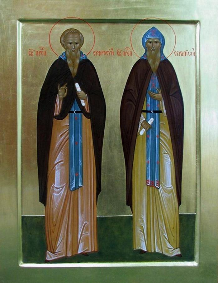 Молитвы преподобному Серапиону Псковскому