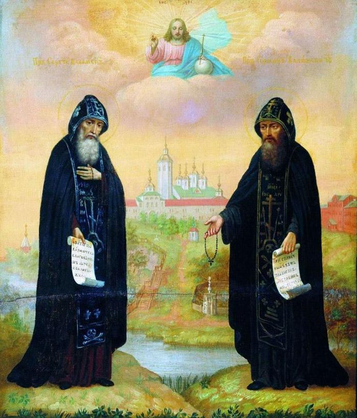 Молитвы преподобным Сергию и Герману Валаамским