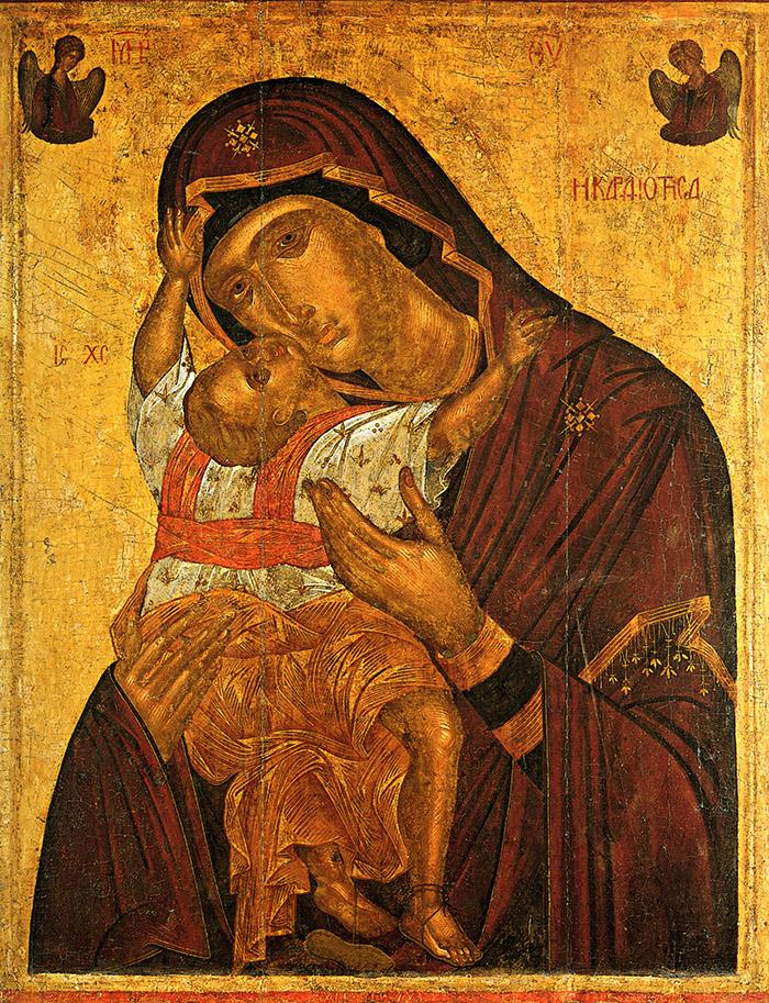Акафист иконе Пресвятой Богородицы Сладкое Лобзание (Гликофилуса)