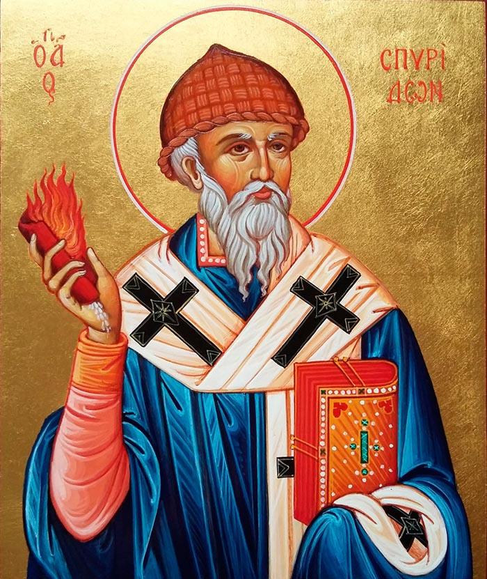 Молитвы святителю Спиридону Тримифунтскому