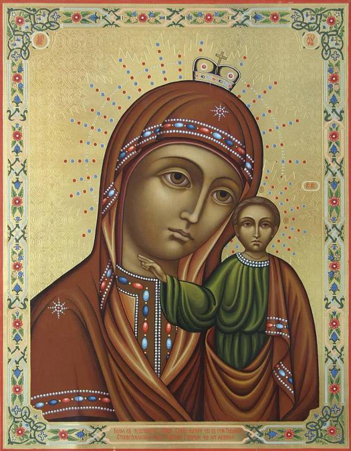 Акафист иконе Пресвятой Богородицы Табынская