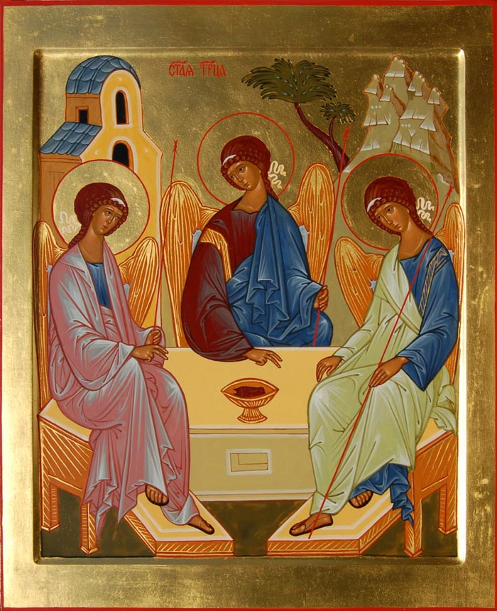 Молитвы Пресвятой Троице