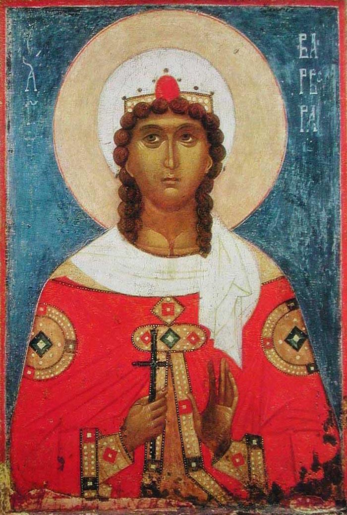 Молитвы святой великомученице Варваре