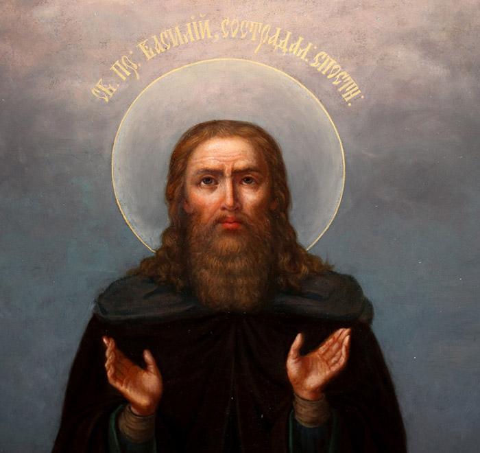 Молитвы преподобному Василию Новому