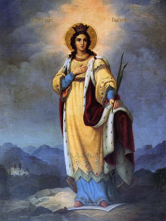 Молитвы святой великомученице Екатерине Александрийской
