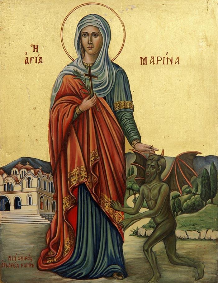 Молитвы святой великомученице Марине Антиохийской