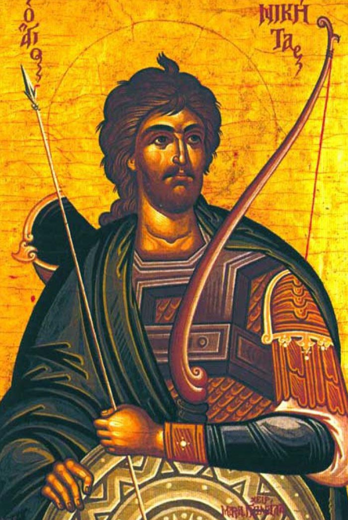Молитвы святому великомученику Никите Готфскому